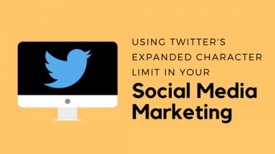 Using Twitter's expanded character limit for social media marketing
