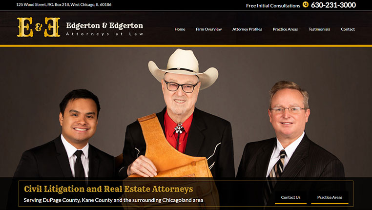 Business Lawyer Websites | Commercial Attorney Web Design