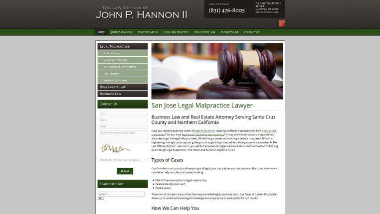 The Law Offices of John P. Hannon II