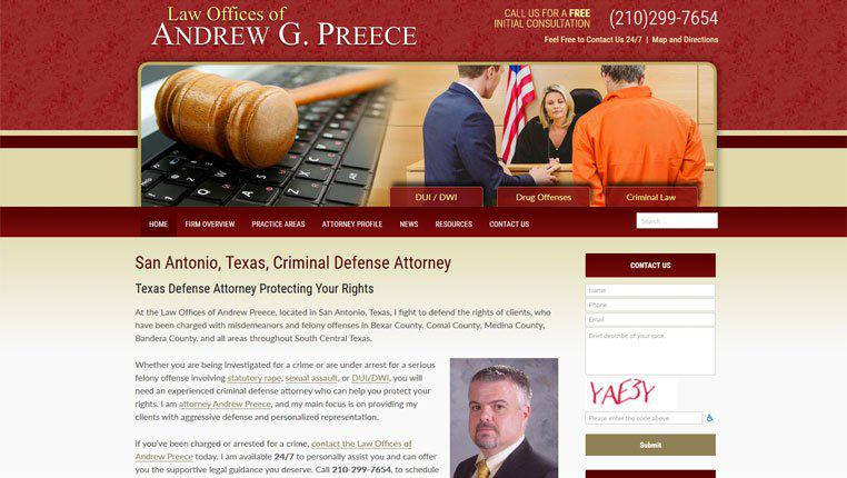 Law Offices of Andrew Preece