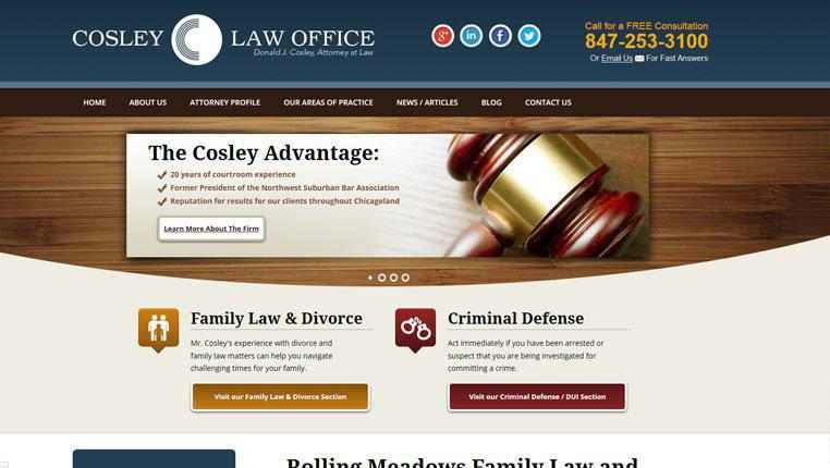 Law Offices of Donald J. Cosley