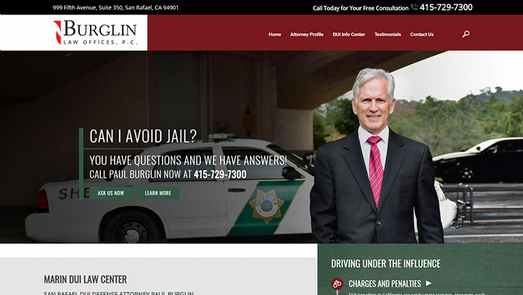 Burglin Law Offices, P.C. Marin County