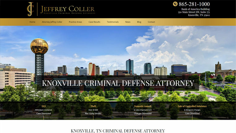 Jeffrey Coller, Knoxville Criminal Defense Attorney