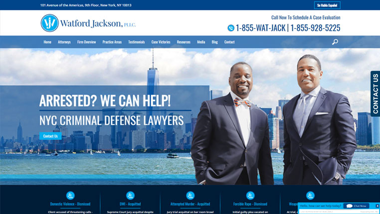 Criminal Attorney Websites | Online Marketing Defense Lawyers | SEO