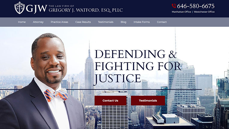 The Law Firm of Gregory J. Watford, Esq., PLLC