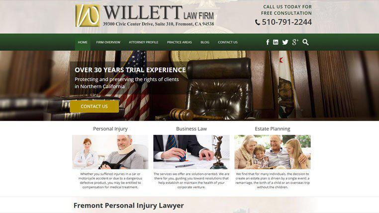 Personal Injury Attorney Website Experts Pi Lawyer Web Design Marketing