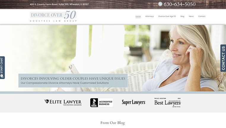 Divorce Over 50 - Goostree Law Group
