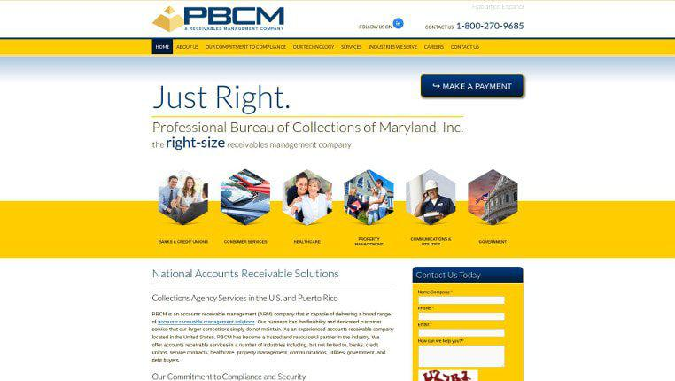 Professional Bureau of Collections of Maryland, Inc.