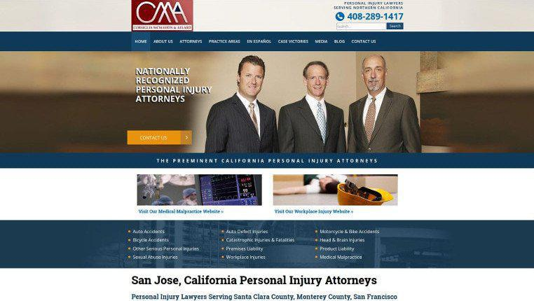 Best Attorney Websites | Lawyer Web Design Marketing | Portfolio