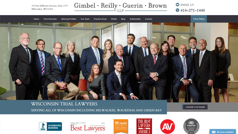 General Practitioner Law Firm Websites | California, Illinois